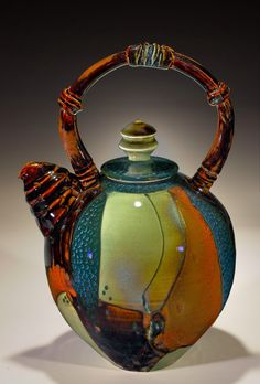 New Teapot from my last firing Timothy Sullivan Creekside Pottery