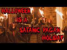 Halloween is a Satanic Pagan Holiday (Halloween EXPOSED TVC Live Special Show) - YouTube