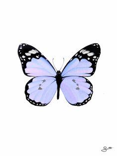 society6.com/scarlettvis   lilac glitter butterfly