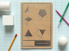 {Polyhedra Jotter} diggin' this geometric cover!