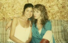 Sharon Celani and Stevie ~ ☆♥❤♥☆ ~ friends and stage performers for decades, mostly with Fleetwood Mac, but also with Stevie when she was a very successful solo concert performer