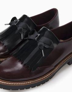 Sapatos blucher a condizer - TODOS - MULHER | Stradivarius Portugal