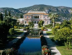 sublime villa ephrussi de rothschild in saint jean cap ferrat cote d - Villa Ephrussi De Rothschild Mariage