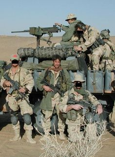 Delta Force during the early stages of Operation Iraqi Freedom