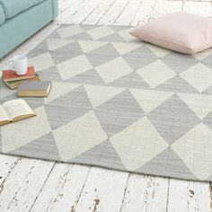 Gorgeous Checkered Rug | Checker | Loaf 200 x 140cm 240 x 170cm