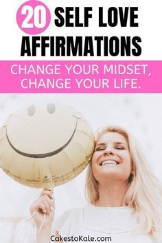 20 Daily Self Love Affirmations. Change your mindset and change your life. Learn to love yourself. Negative Self Talk, Negative Thoughts, Positive Thoughts, Self Thought, Love Journal, Books For Moms, Self Love Affirmations, Words To Use, Change Your Life