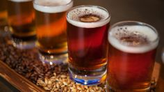 Sample different beers at the Bayside Brews food and drink stand at Disney California Adventure Park