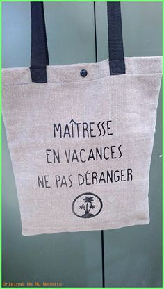 idea gift mistress 2019 – Gift idea mistress Tote bag handmade cotton canvas and thick linen: Handbags … by macadeauidees Teacher Christmas Gifts, Teacher Gifts, Black Handbags, Tote Handbags, Silhouette Portrait Machine, Diy Cadeau Maitresse, Tote Bags Handmade, Handmade Gifts, Tote Bags For School
