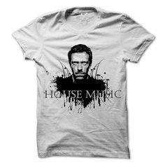Dr House Music T Shirts, Hoodies. Check price ==► https://www.sunfrog.com/Music/House-Music.html?41382 $23.01