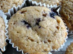 Healthy Blueberry Muffins Healthy Family Cookin'