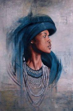 67 Ideas african art painting people culture for 2019 Painting People, Artist Painting, Figure Painting, Painting Studio, Black Women Art, Black Art, Africa Painting, African Art Paintings, South African Artists