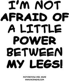Hehe... This could mean two different kinds of power... Well I'm down for both