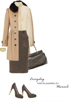 """""""Coat by BURBERRY"""" by fashionmonkey1 ❤ liked on Polyvore"""
