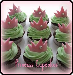 princess cake designs little girl | Princess Cupcake Ideas | Cupcake Decorating Ideas