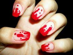 Perfect Halloween nails!