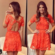 Sexy Women Summer Short Mini Lace Dress Casual Sleeveless Party Evening Cocktail on Luulla