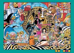 Color Spreads - The One Piece Wiki - Manga, Anime, Pirates, Marines, Treasure, Devil Fruits, and more