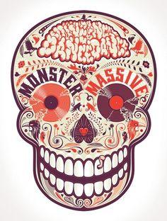 Dia de los Muertos on the Behance Network
