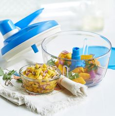 Our Southwest Mango Salsa is quick to prepare and will be even quicker to disappear when you serve it at your next get together.  DanaW.My.Tupperware.com