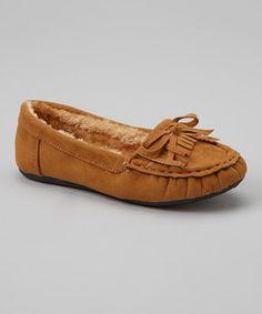 Loving this Rockland Footwear Chestnut Moccasin on #zulily! #zulilyfinds