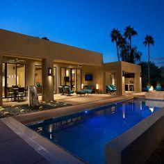 Amazing transformation - contemporary - Pool - Phoenix - Link Architecture, PC