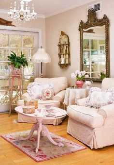 .Shabby and pink