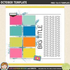 The 571 best free digital scrapbook templates images on pinterest in free digital scrapbooking template maxwellsz