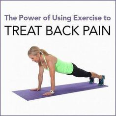 Back pain can be horrible, and stops you from living an active life! Use these exercises to strengthen your back and core and relieve pain! (Lower Back Pain Chronic) Causes Of Back Pain, Severe Back Pain, Upper Back Pain, Back Pain Remedies, Back Pain Exercises, Stretches, Relieve Back Pain, Sciatica Pain, Plank Workout