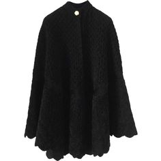 ALEXANDER McQUEEN Velvet Cape | Brand dress rental salon''SHIROTA''