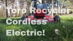 Toro Recycler 60 volt 22 inch Mower Unboxing and First Test Walk Behind Mower, How Are You Feeling