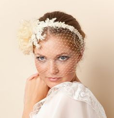 Elegant and beautiful wedding headpieces. We create unique headpieces in the best quality you can get. Wedding Braids, Headpiece Wedding, Bridal Headpieces, Bridal Headbands, Headband Veil, Bridal Tiara, Wedding Hair Pieces, Wedding Hair Accessories, Head Accessories