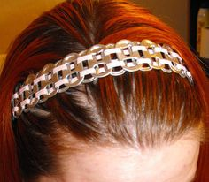 Soda Pop Tab Elastic Headband