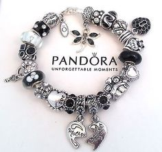 >>>Pandora Jewelry OFF! >>>Visit>> Authentic-Pandora-Silver-Charm-Bracelet-with-European-Charms-Mother-Daughter-New Fashion trends Fashion designers Casual Outfits Street Styles Pandora Heart Bracelet, New Pandora Charms, Silver Charm Bracelet, Pandora Jewelry, Silver Charms, Silver Ring, Bracelet Charms, Cute Jewelry, Charm Jewelry