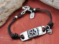I Love My Dawg bracelet by Island Cowgirl Jewelry.  Handmade dog inspired bracelet.