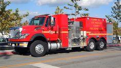 LA County Fire Department International/KME Foam Tanker.