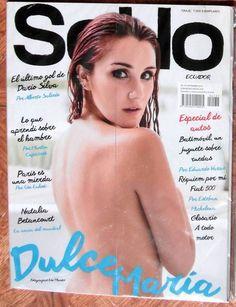 DULCE MARIA SOHO ECUADOR MAGAZINE 2014