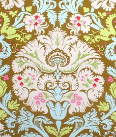 Amy Butler Acanthus Olive Fabric