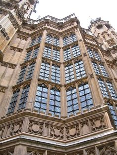 Windows, houses of Parliament