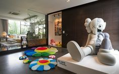 Did You Expect These Artworks in the Thai Star's Private Playground Hypebeast Room, Living Room Decor, Bedroom Decor, Game Room Design, Aesthetic Room Decor, Dream Rooms, Modern House Design, House Rooms, Decoration