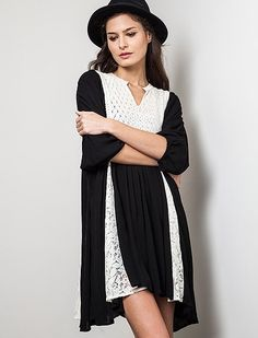 This Boho Chic dress is ready for your summer festivals!