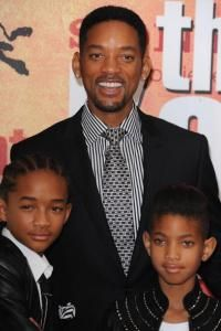 Willow and Jaden Smith, daughter and son of Will Smith and Jada Pinkett Smith