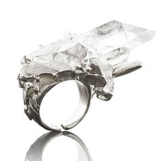 Crystal Rock Ring