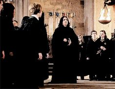 """""""Alan Rickman on the set of Harry Potter and the Deathly Hallows: Part 2"""""""