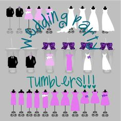 Bridal Party Gifts Bridal Party Personalized Gifts by ChicMonogram, $14.00