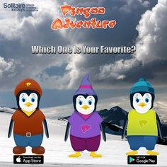 Take this poll! Which Avatar of PINGOO is your favorite one from #Pingoo #Adventure? With which Avatar of Pingoo, you connect yourself to the most? Let us see, who the most #versatile one is!