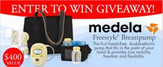 February Giveaway - Medela Freestyle Breastpump - Right Start Blog