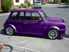 Perfect little purple car for a purple lover!