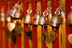 Buddhist prayer bells