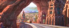 Sahara Square is a district for desert mammals in the city of Zootopia from the…