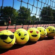 "128 Likes, 5 Comments - Tennis Court of The Day (@tenniscourtoftheday) on Instagram: ""Emoji Tennis!  #tennislife #ilovetennis #gamesetmatch #tennisplayers #tennisindubai #DubaiTennis…"""